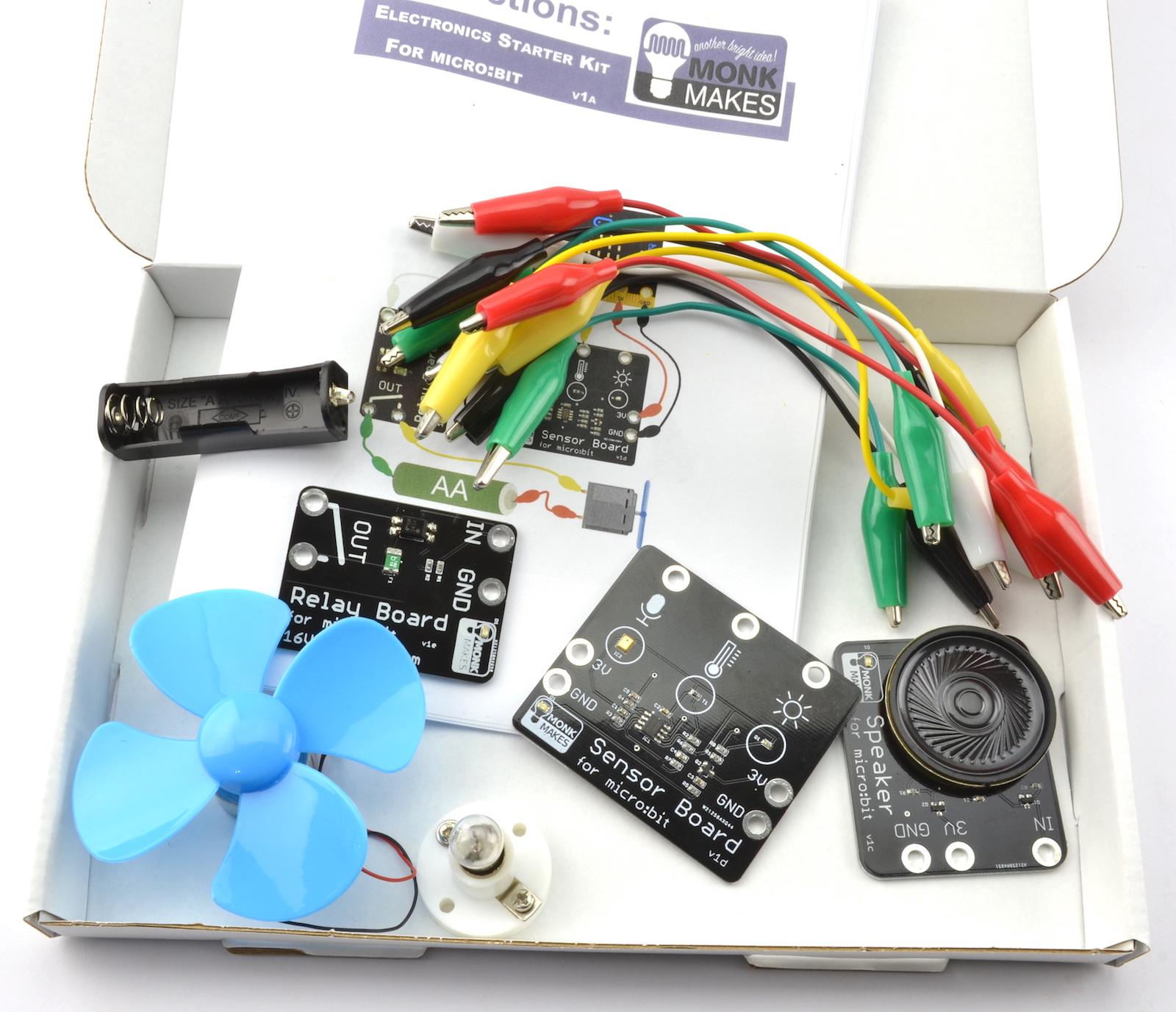 Kit de Iniciación a la Electrónica para micro:bit