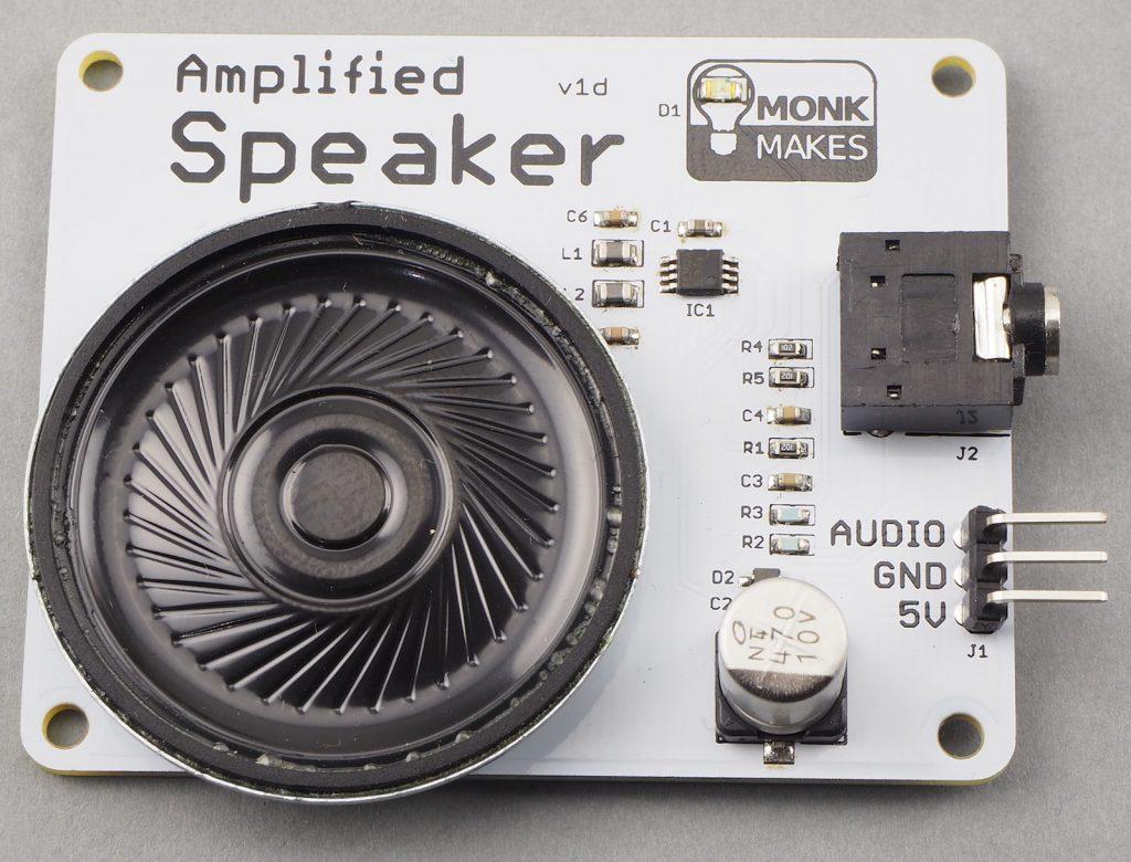 Amplified Speaker Kit for Raspberry Pi