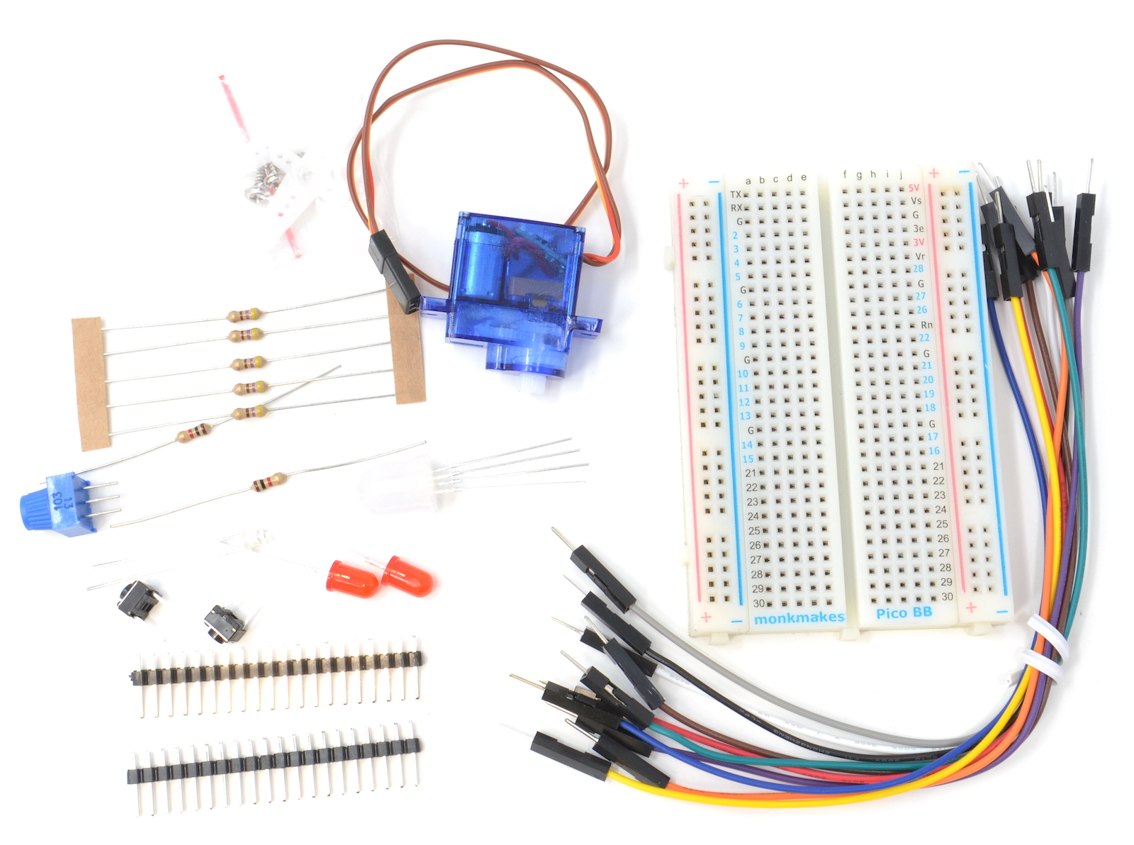 Electronics Kit 1 for Pico (lite edition)